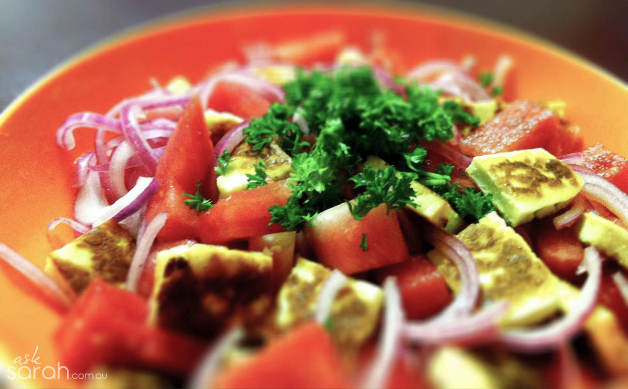 Recipe: Haloumi and Watermelon Salad