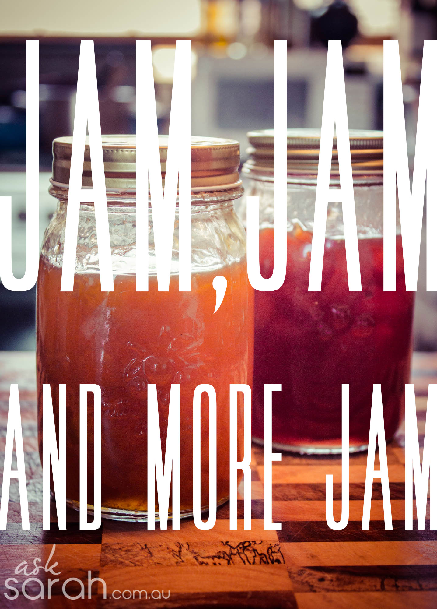 How to make jam/jam recipe
