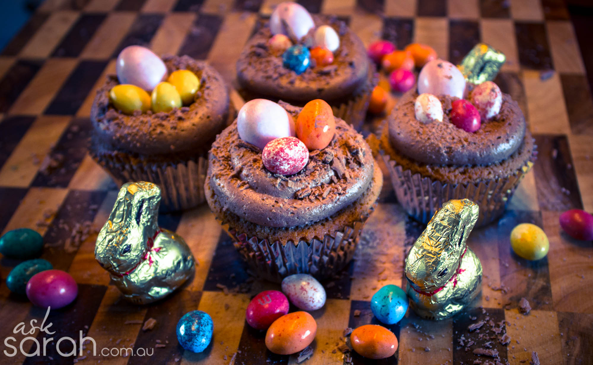 Recipe: Easter Nest Cupcakes
