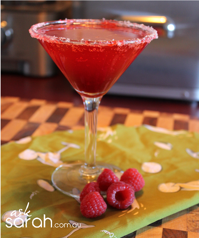 Recipe: Raspberry Margarita