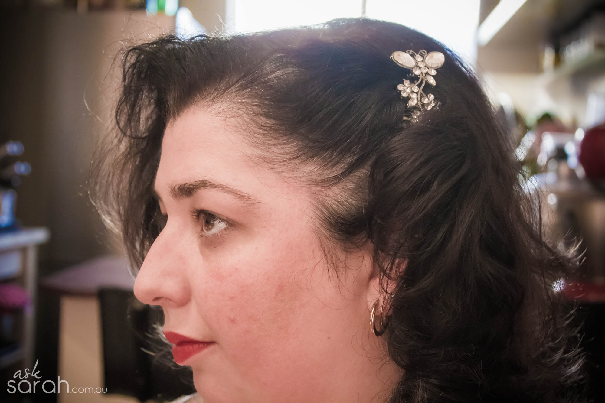 Curling Capers {My Quest for Vintage Inspired Hair}