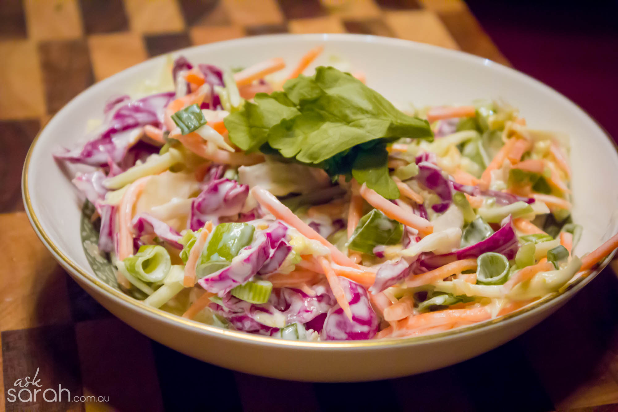 Recipe: Coleslaw with Homemade Dressing