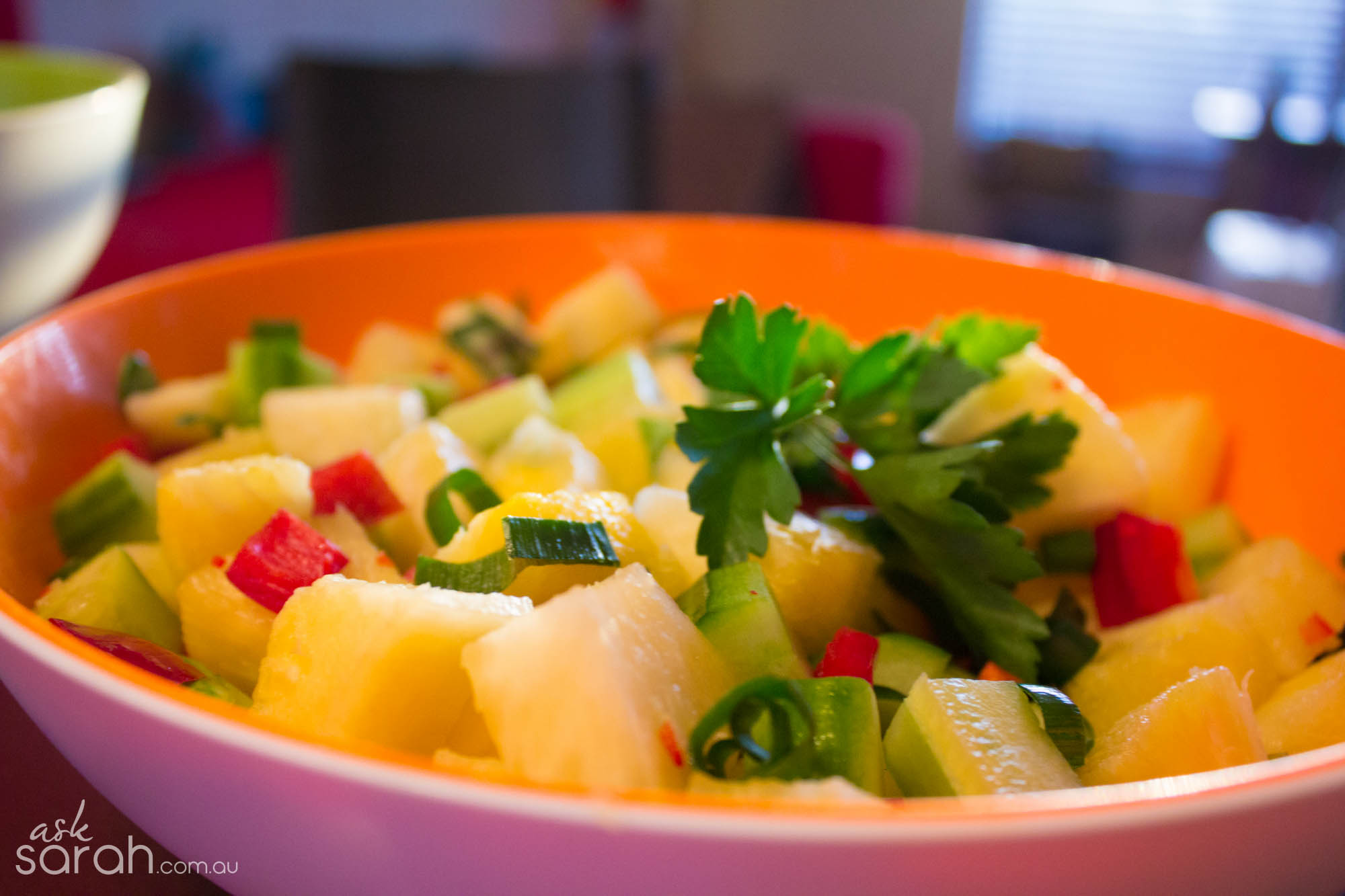 Recipe: Spicy Pineapple Salad