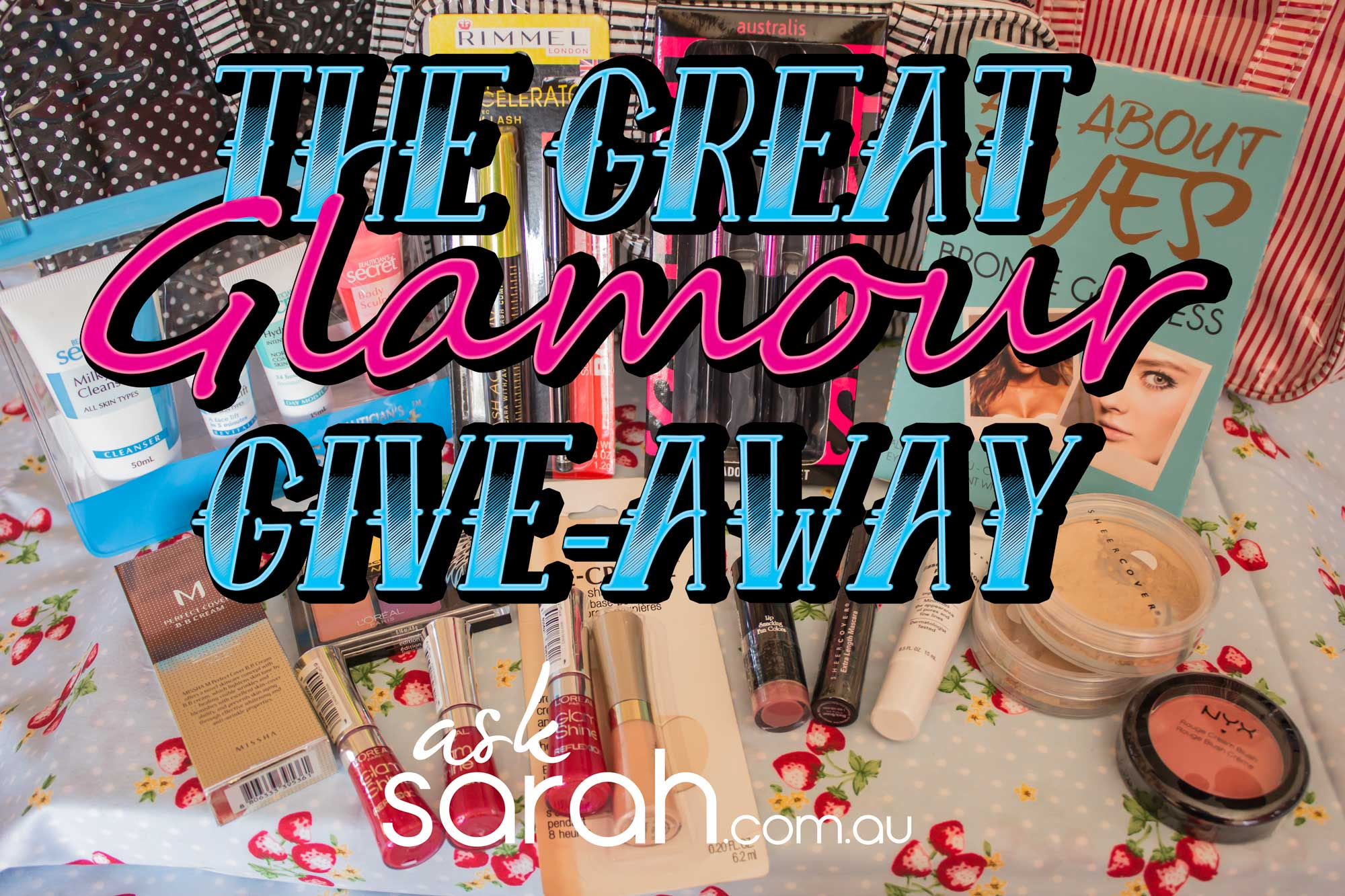 The Great Glamour GIVEAWAY!!!!!!!!!
