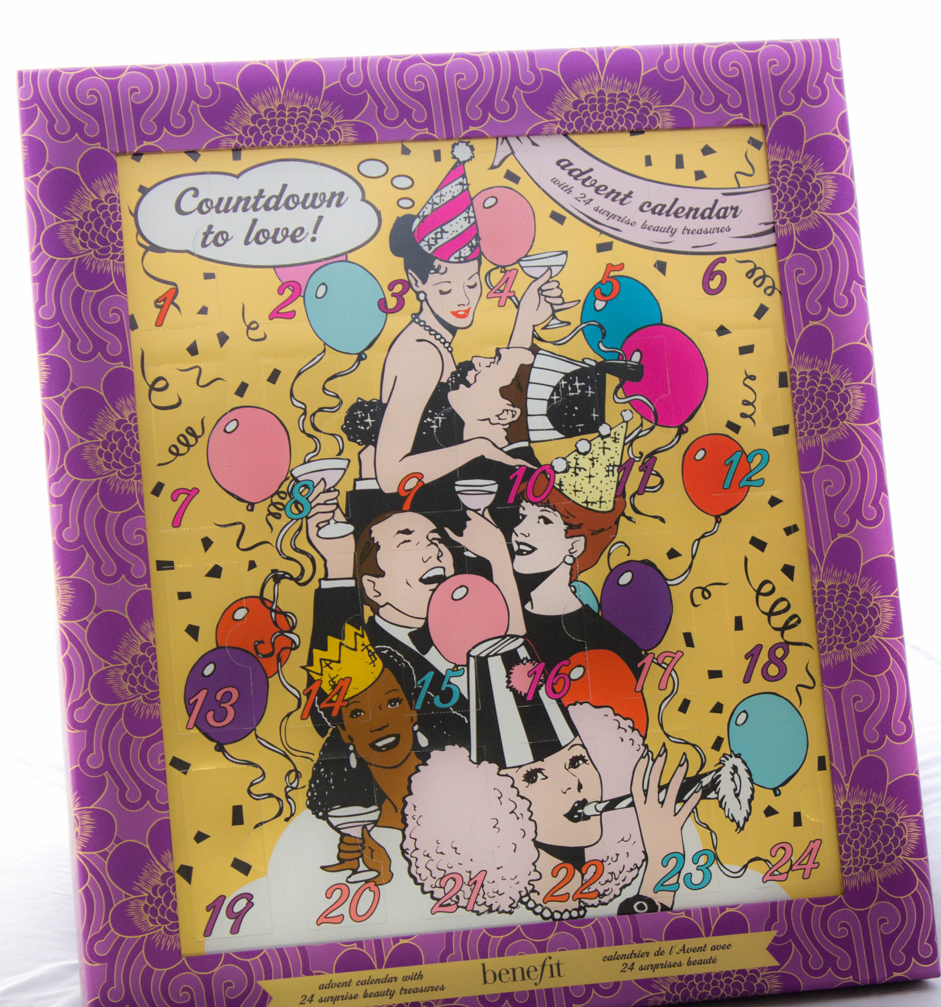 BENEFIT Countdown to Love Advent Calendar Days 1 to 6