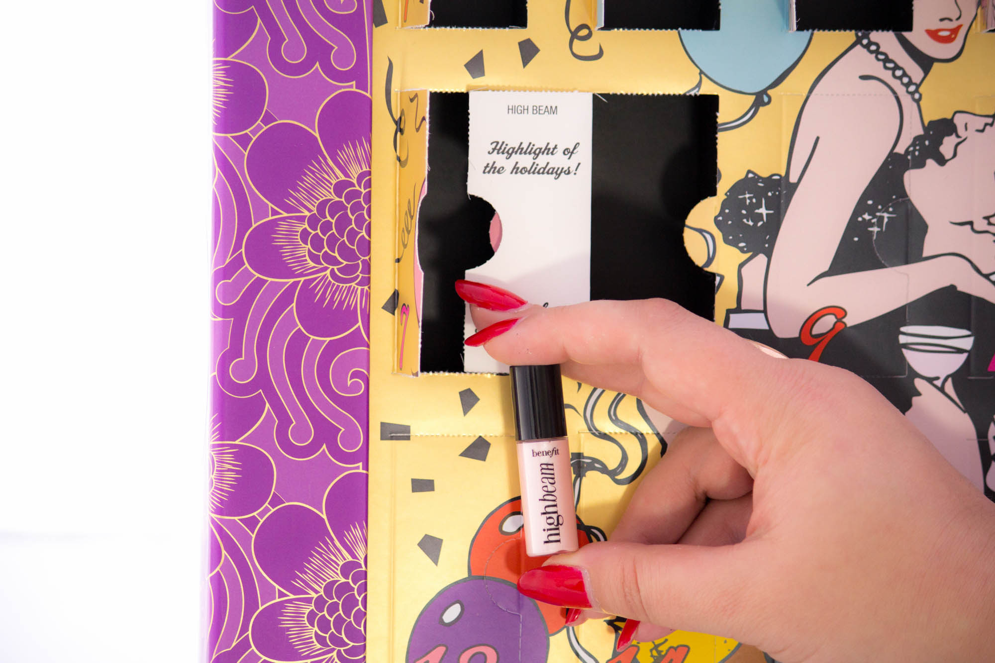 BENEFIT Countdown to Love Advent Calendar Days 7 to 13