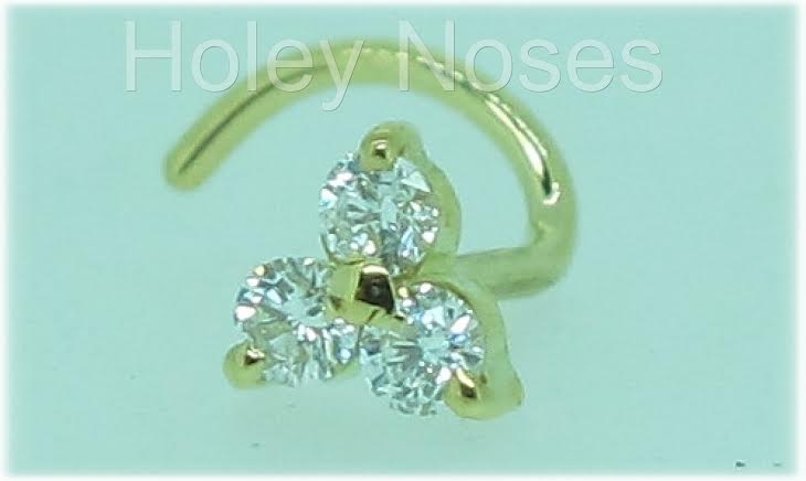 Review: Holey Noses {Custom Gold & Diamond or Gem Studs Australia}