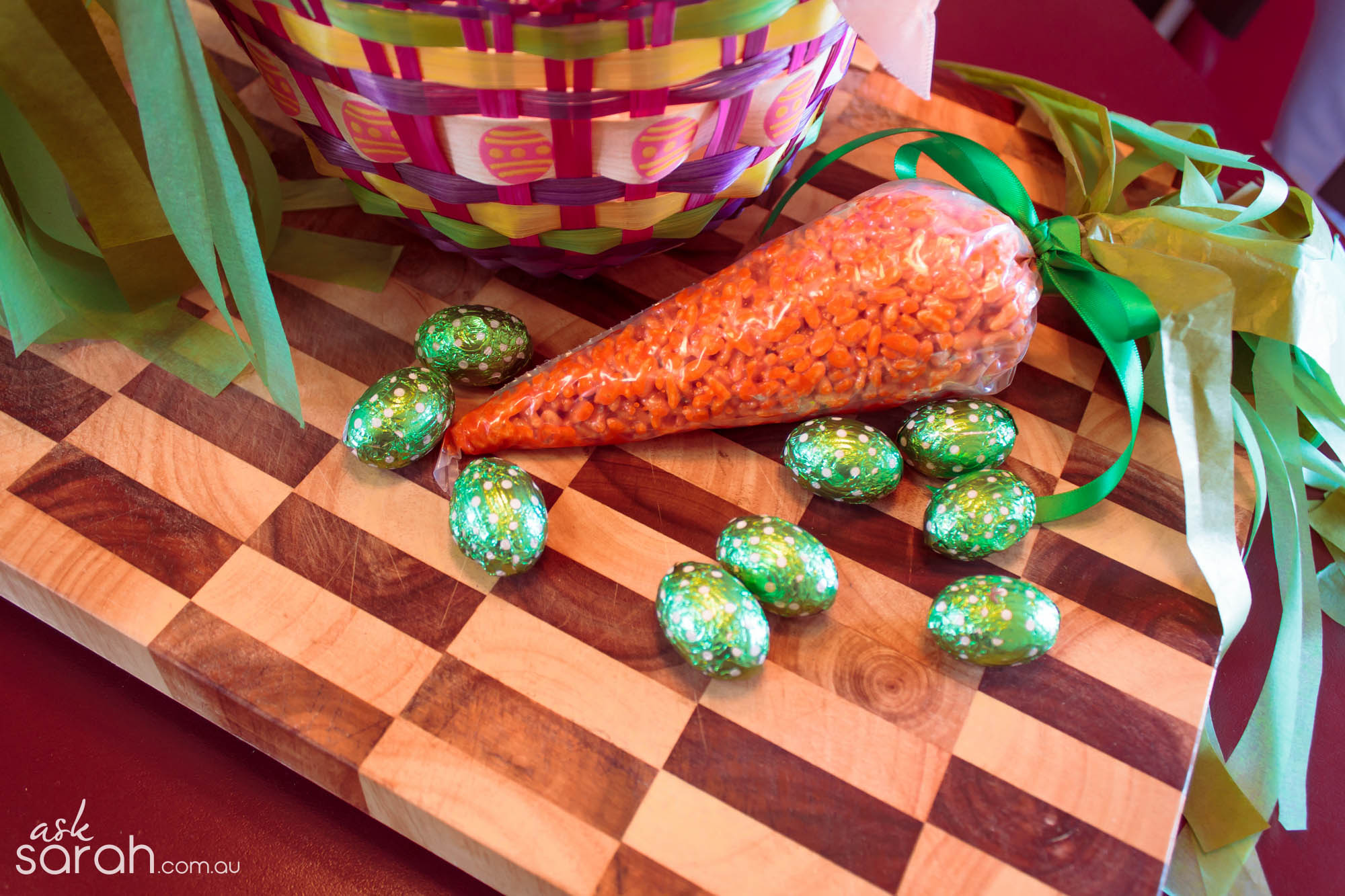 Recipe: Easter Bunny Bites {Rice Krispie Treat Carrots}