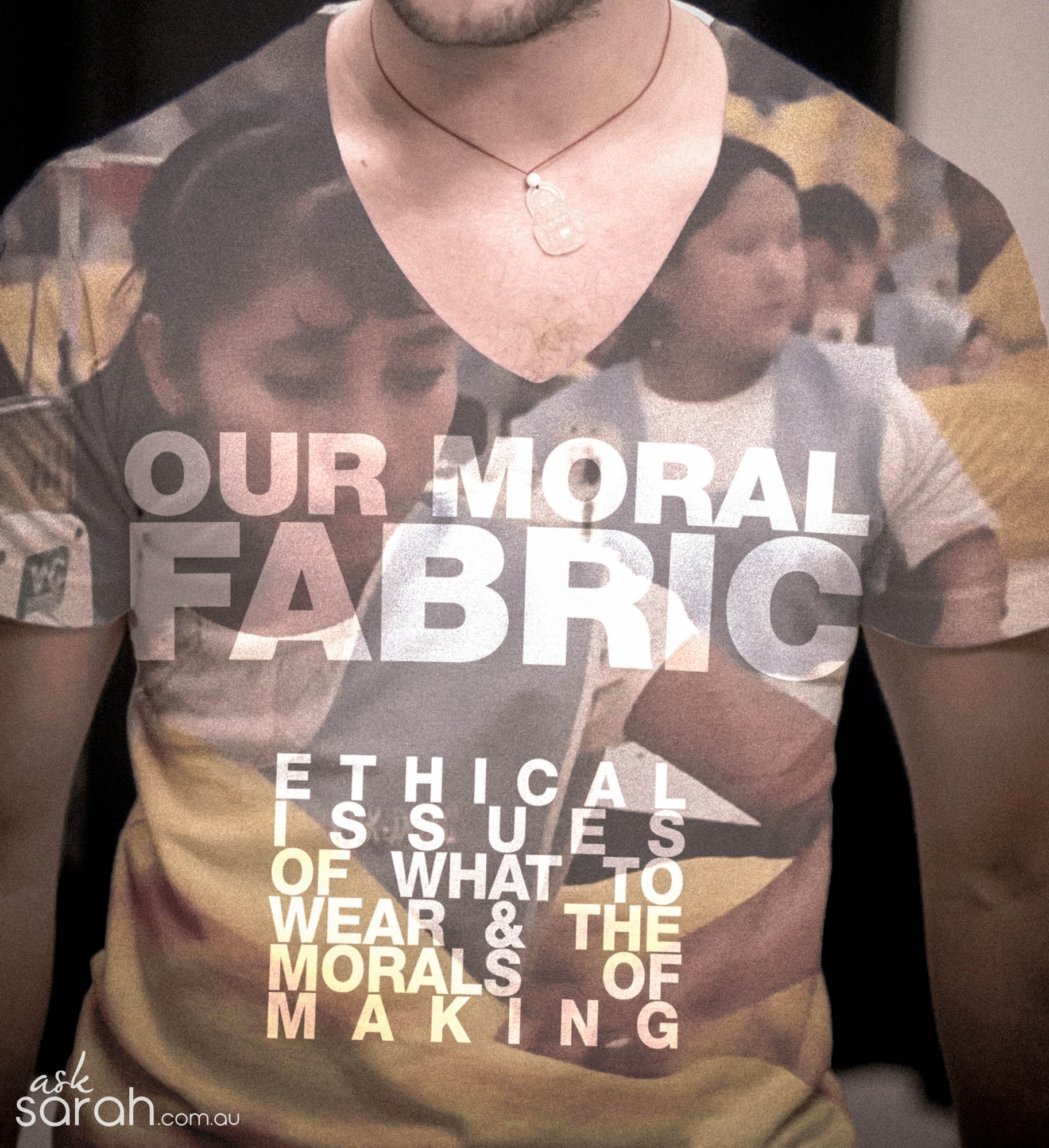 Our Moral Fabric {Ethical Issues of What to Wear & The Morals of Making}