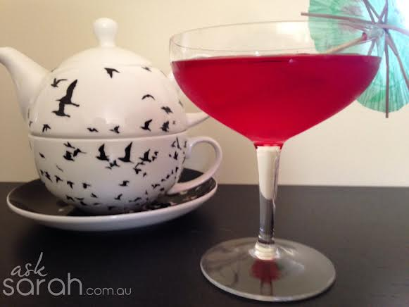 Recipe: Red Jelly Bean Cocktail