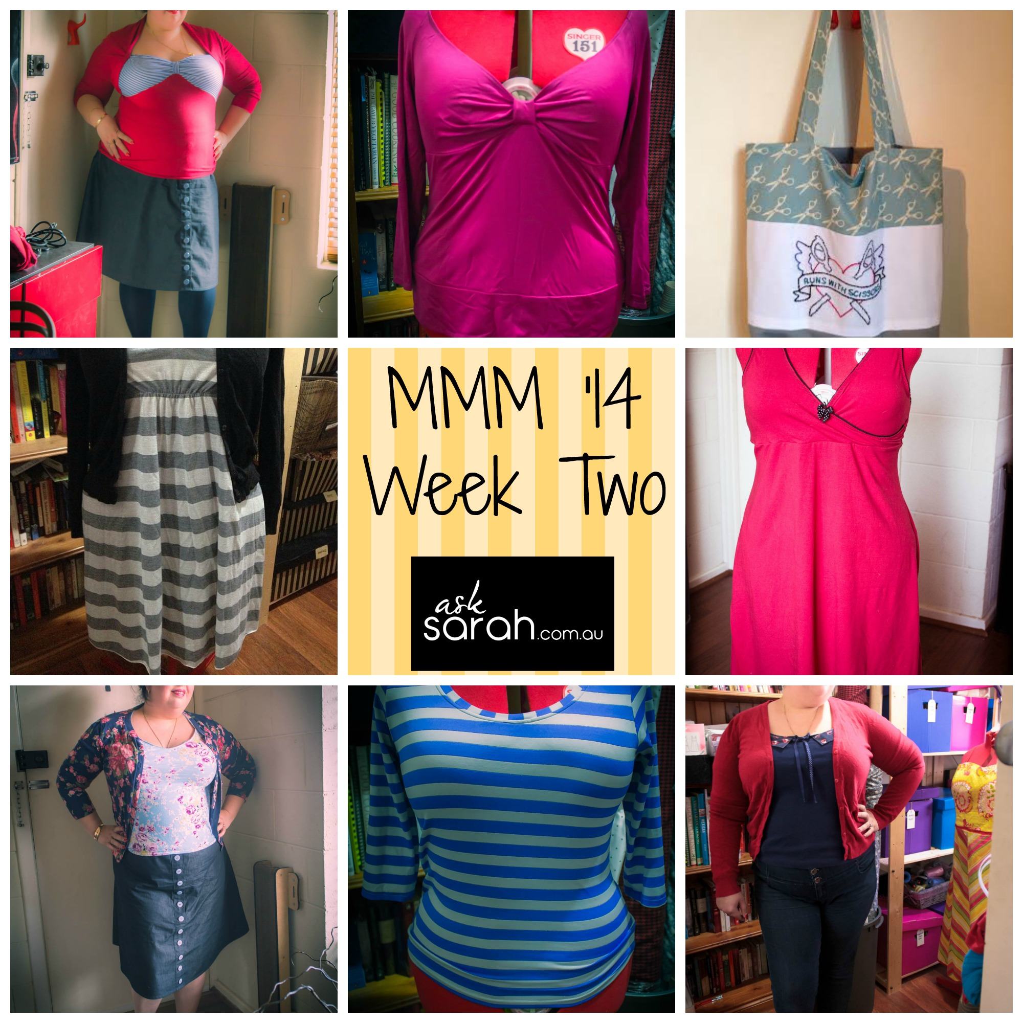MMM '14 Outfits Week Two