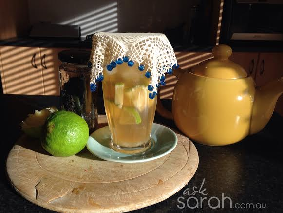 Recipe: Mojito Iced Tea {A Mocktail}