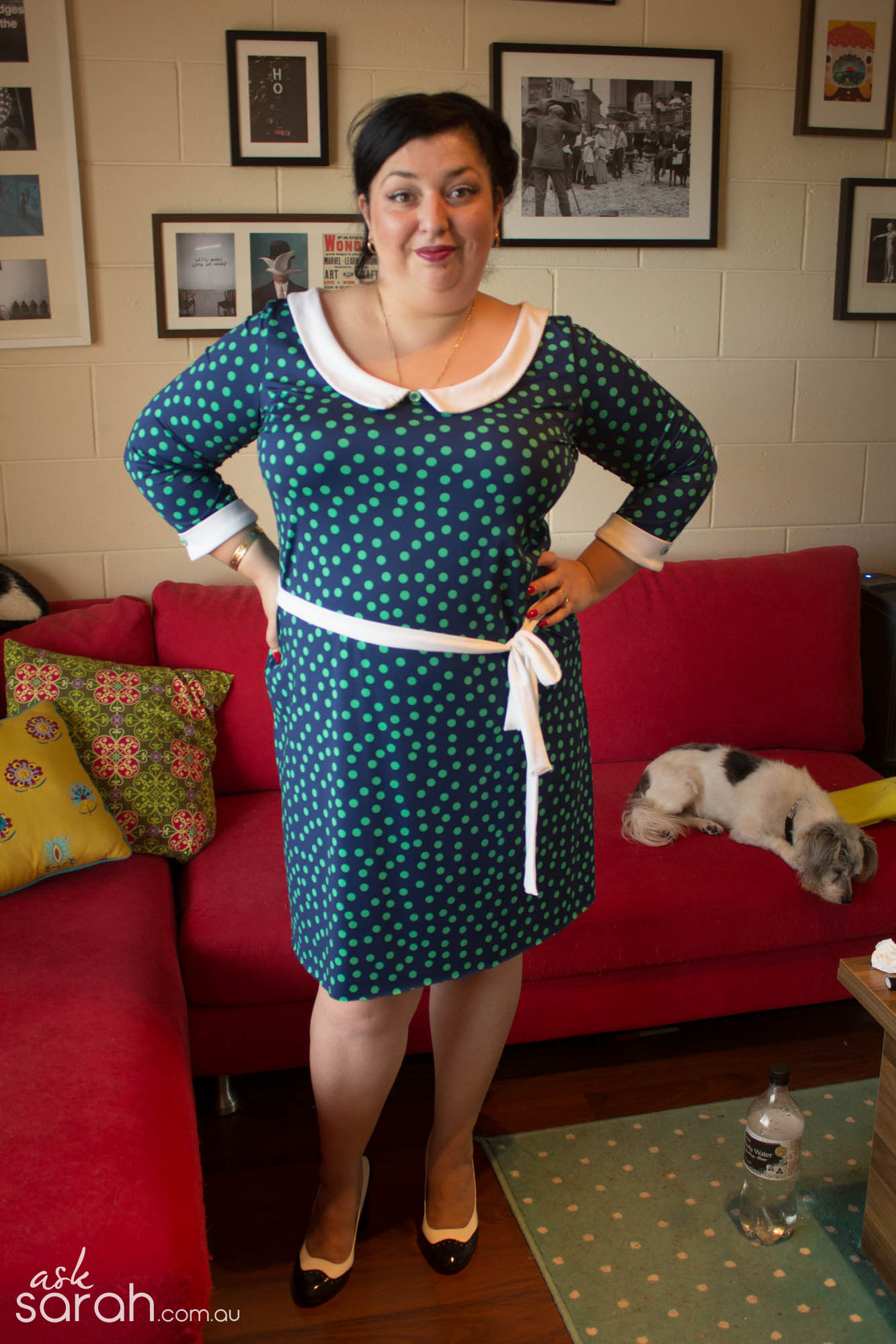 Sew: Saturday Afternoon Dress {Ever So Easy Stretch Dress}
