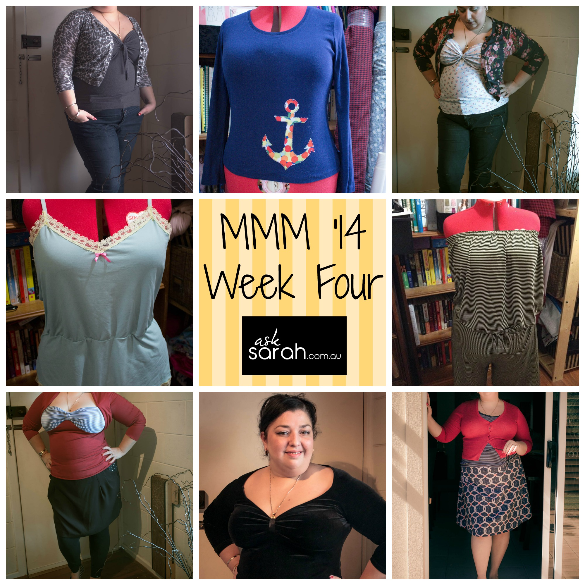 MMMM '14 Outfits Week Four