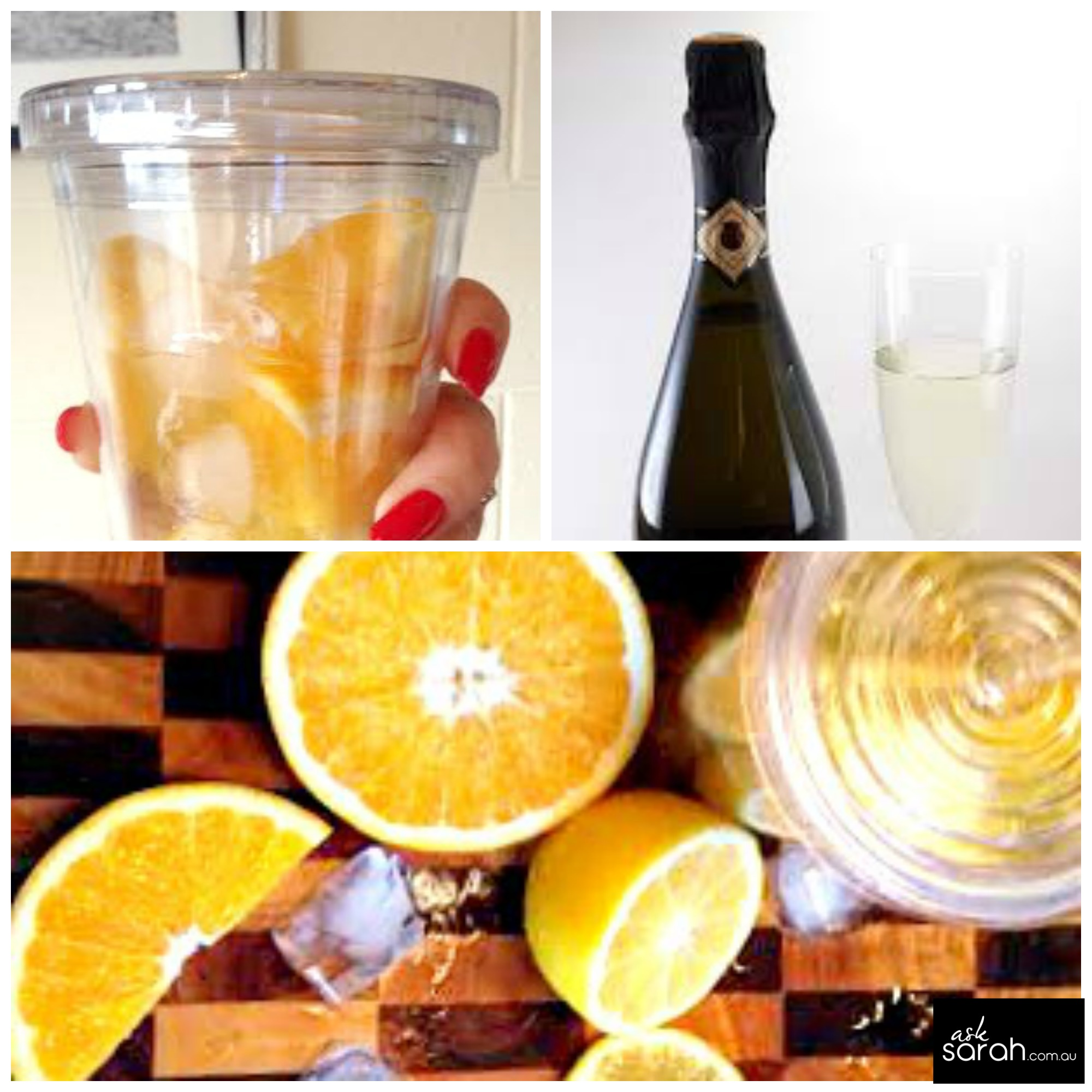 St. Clements Moscato Sangria