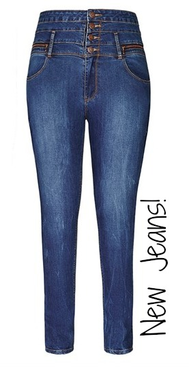 Sew: Mend Your Jeans {Fixing a hole in the thigh/butt}