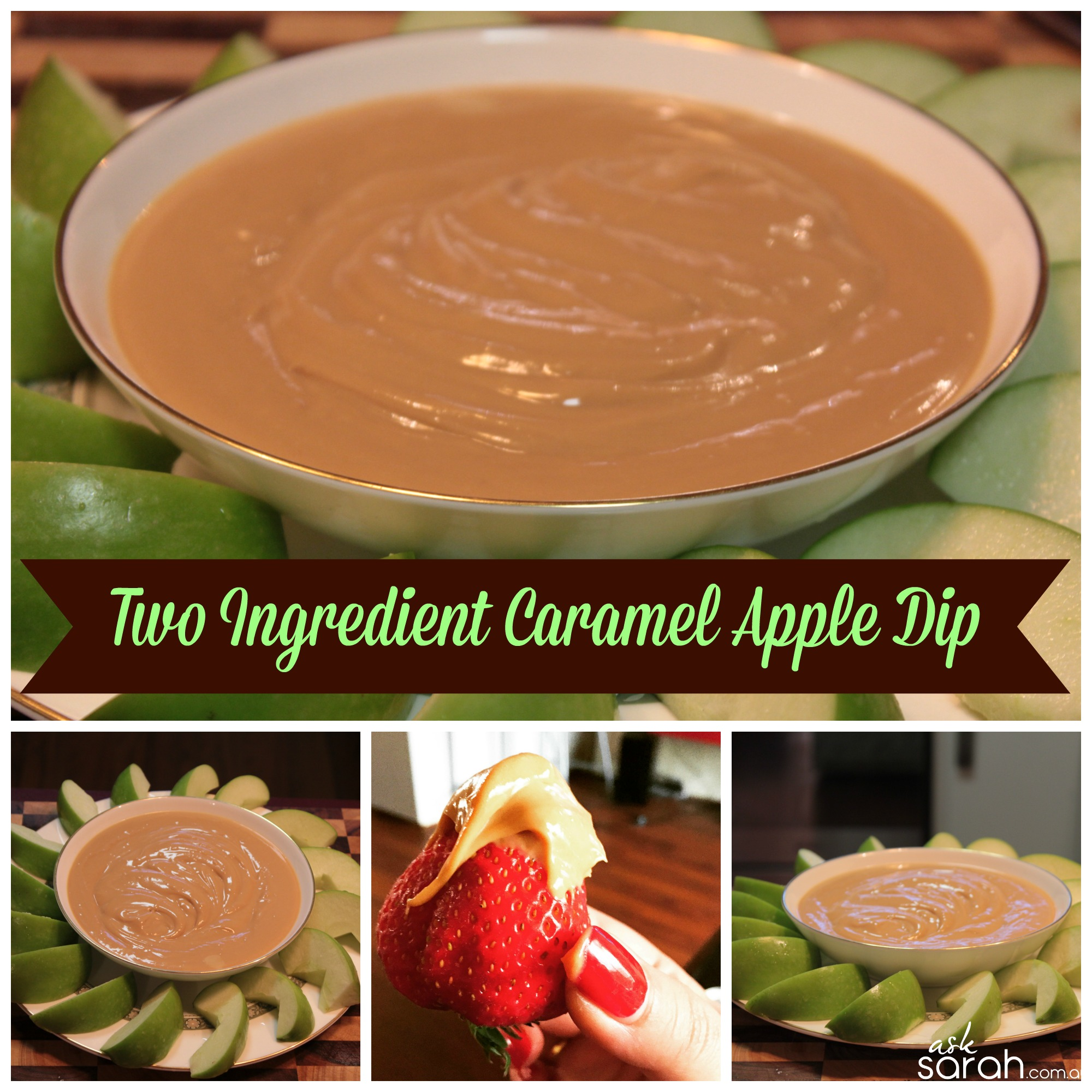 Recipe: Two Ingredient Caramel Apple Dip