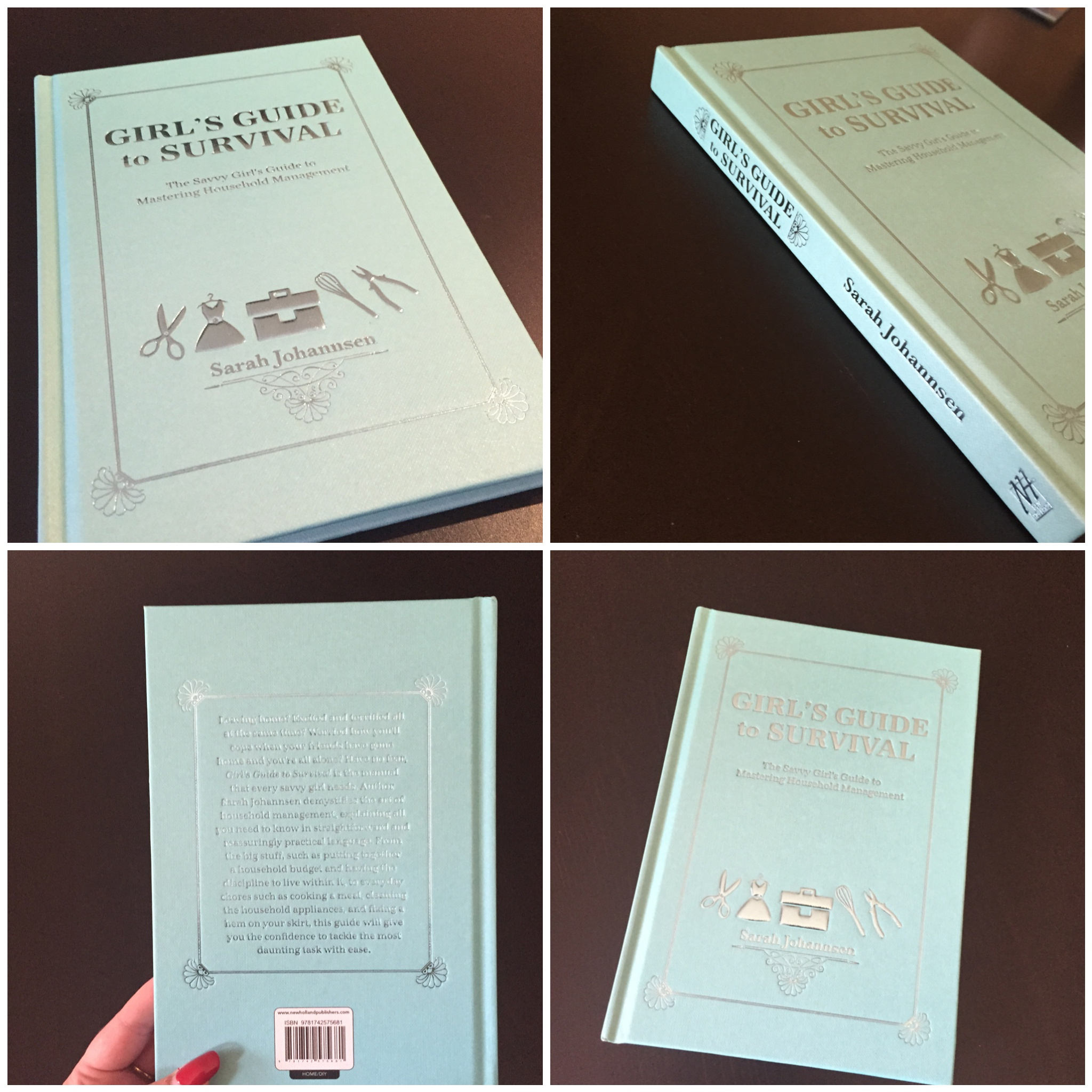 OMG!!! The Book Arrived Today, See It In The Flesh! The Girl's Guide to Survival by Sarah Johannsen
