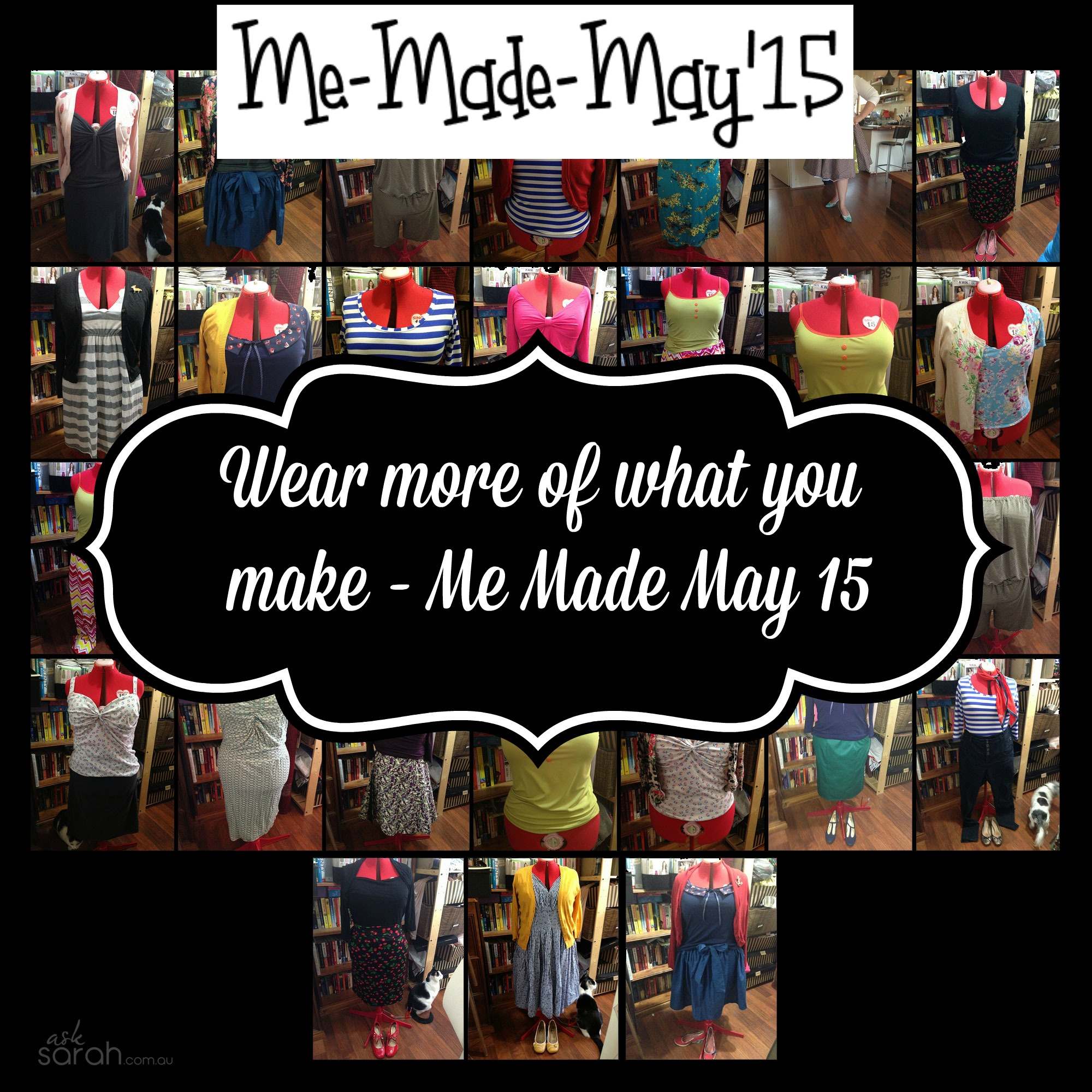 My Pledge - Me Made May 2015