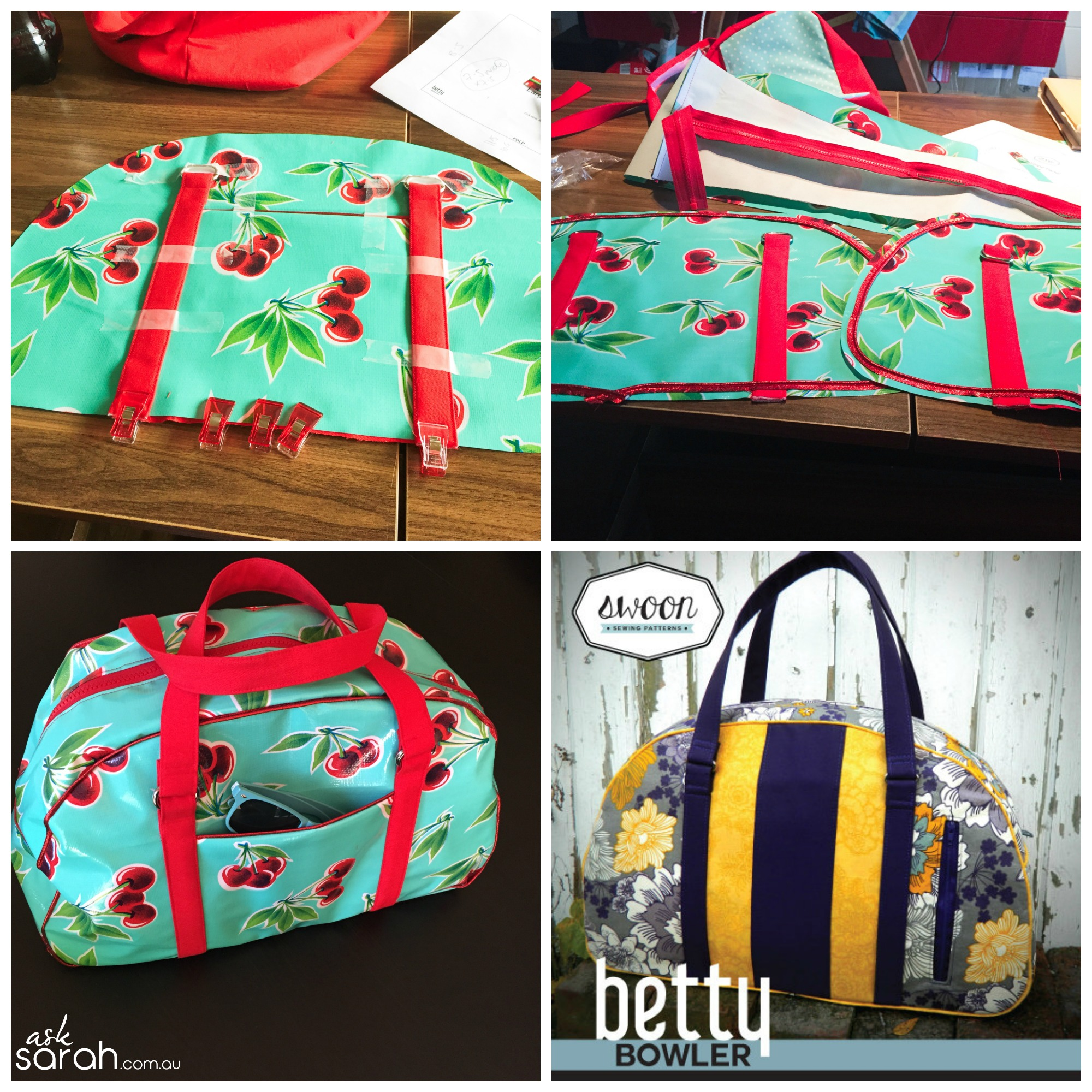 Outer bag Collage