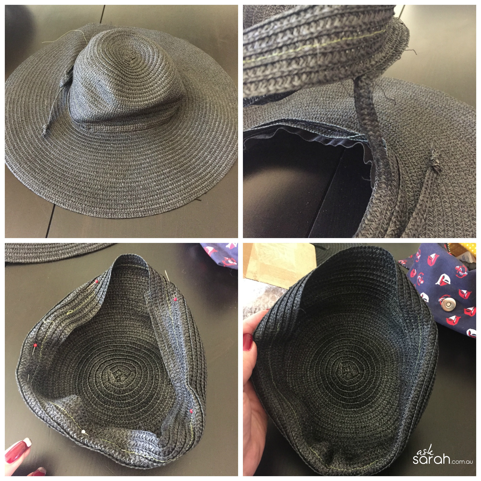 Craft: DIY Hat For Any Occasion Plus Matching Shoe Clips {Racing Season Is Coming....}
