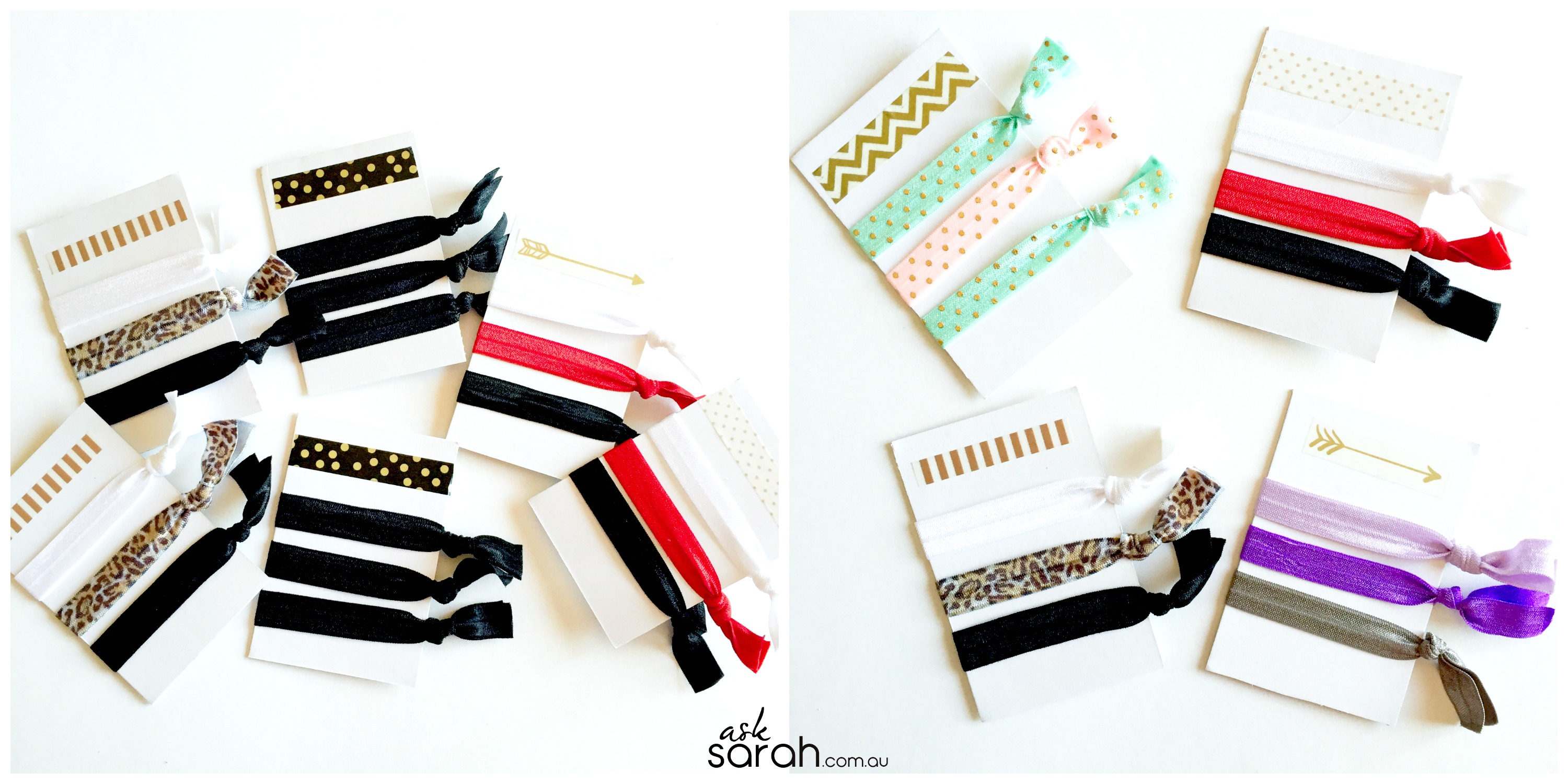 Craft: DIY Creaseless Hair Tie Elastics {Super Quick & Easy! Perfect Gift or Stocking Stuffer}