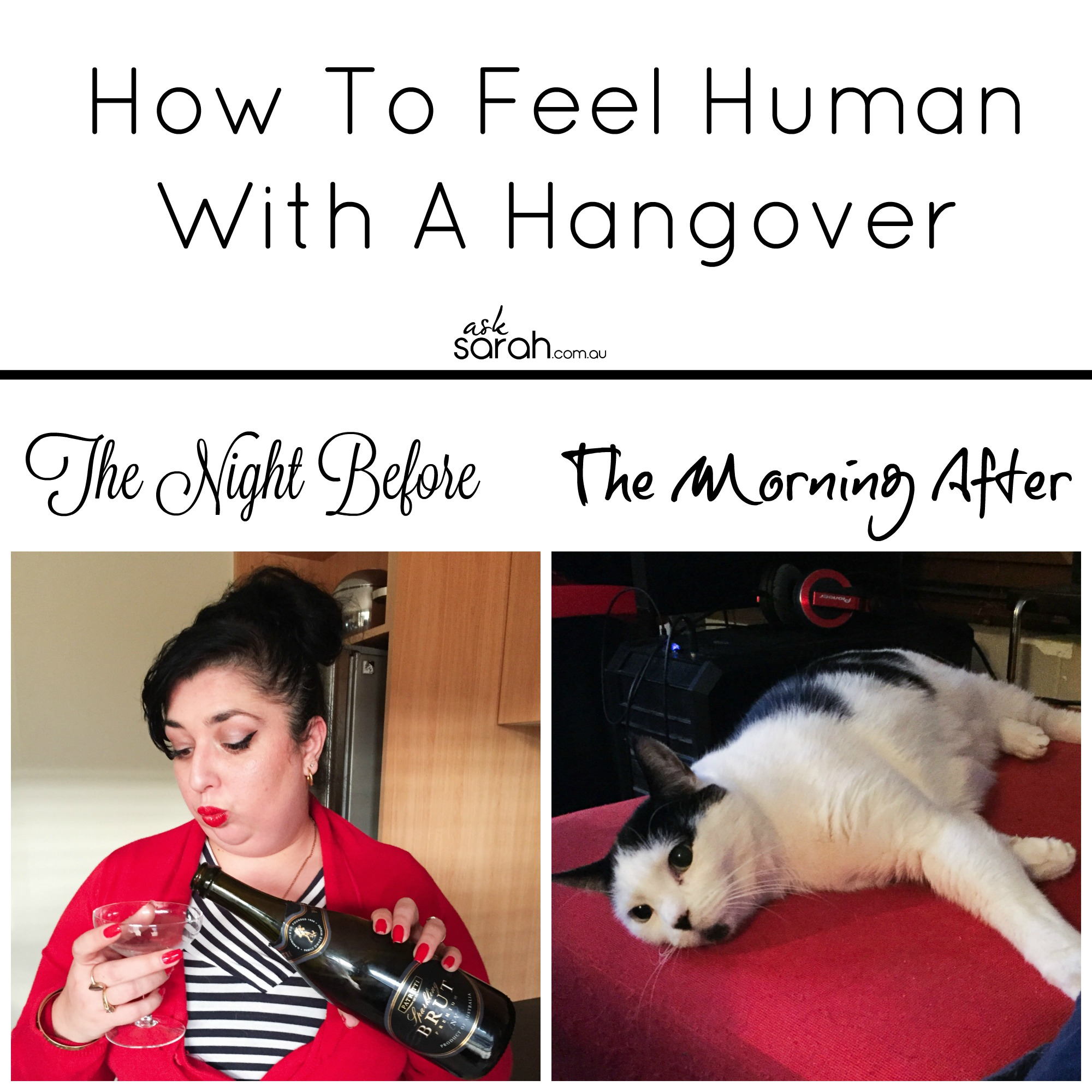 How To Feel Human With A Hangover