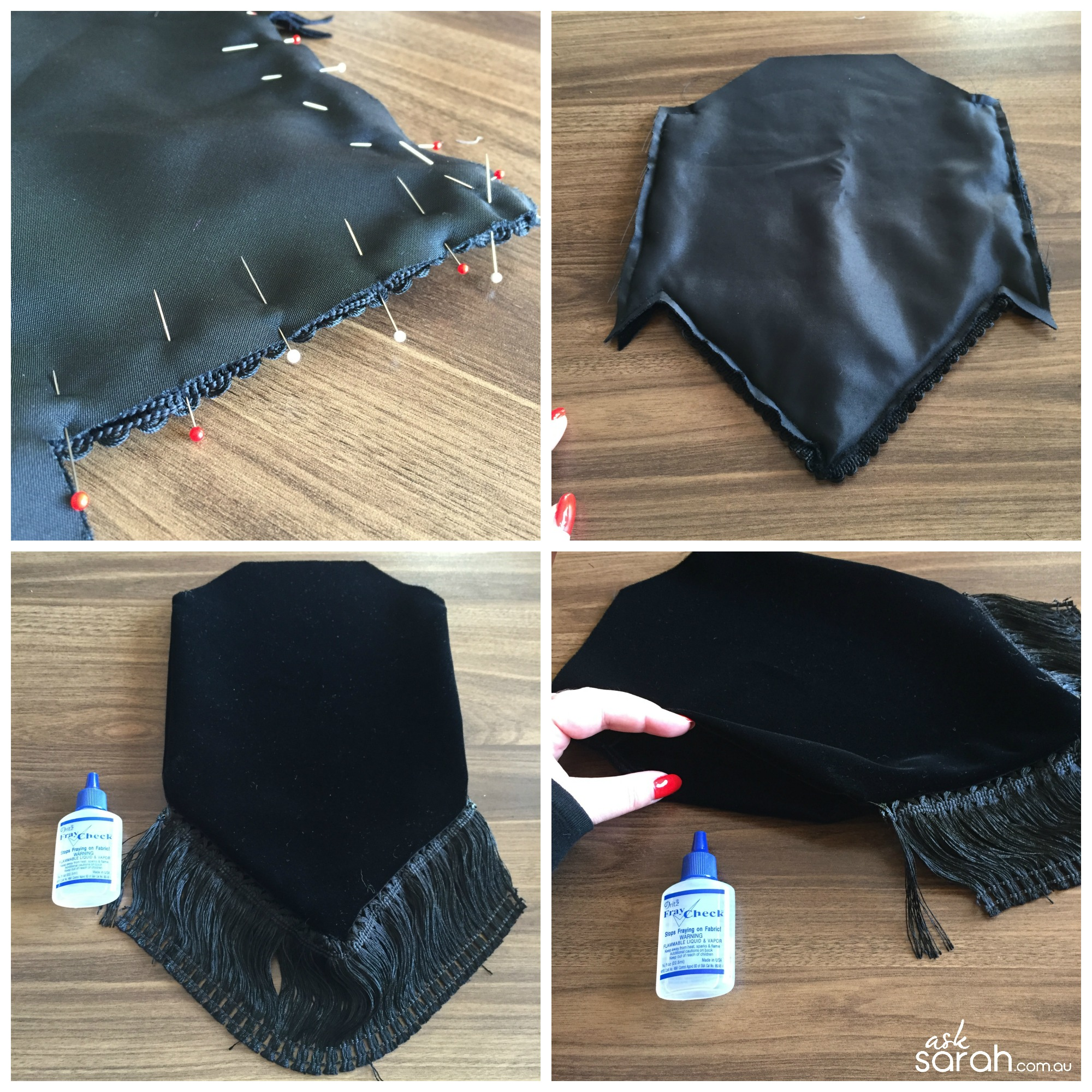 Sew: Vintage Inspired Velvet Evening Bag Tutorial {Just like the Tardis, its Bigger On The Inside!}