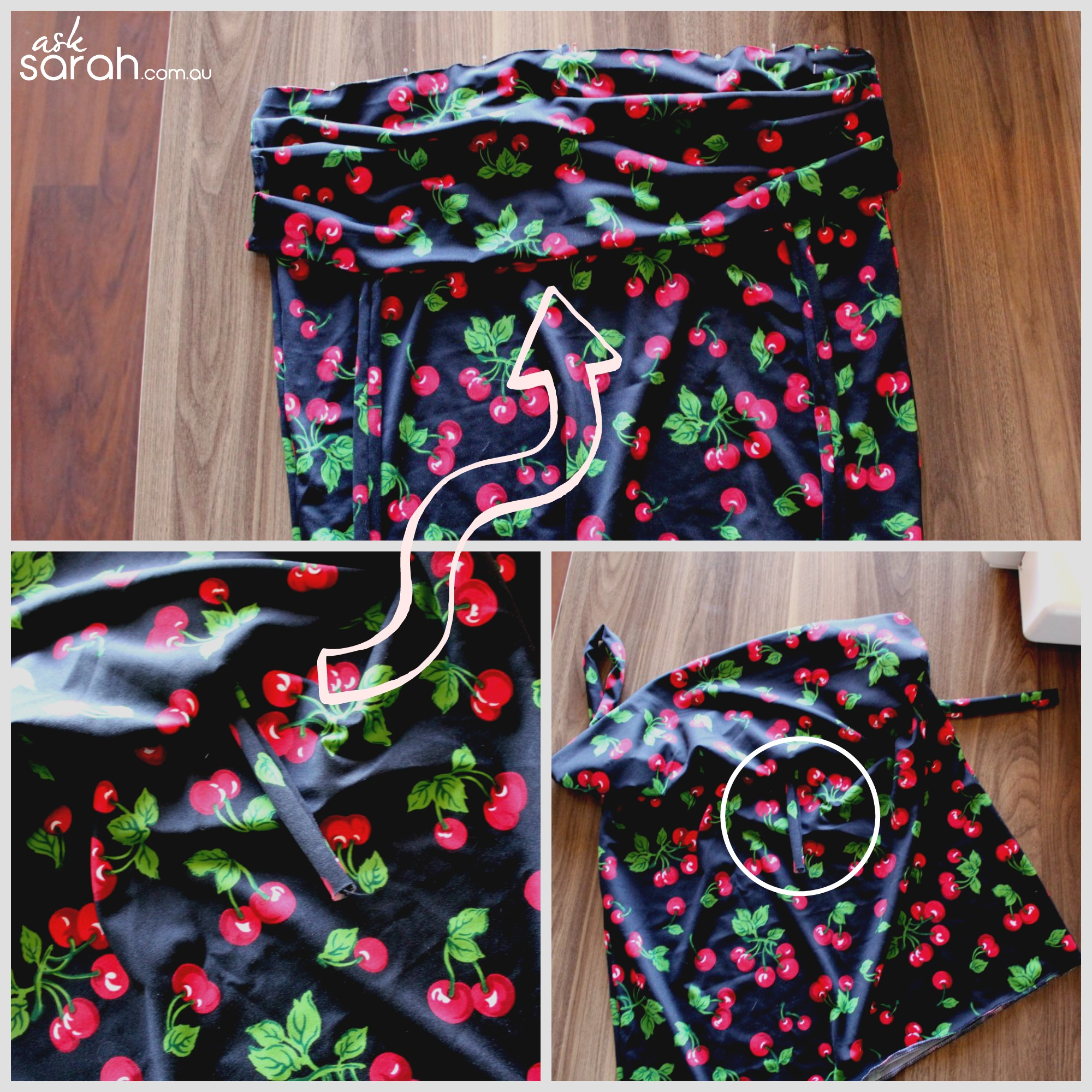 Sew: 50's Retro Sweetheart Tank Top Tutorial