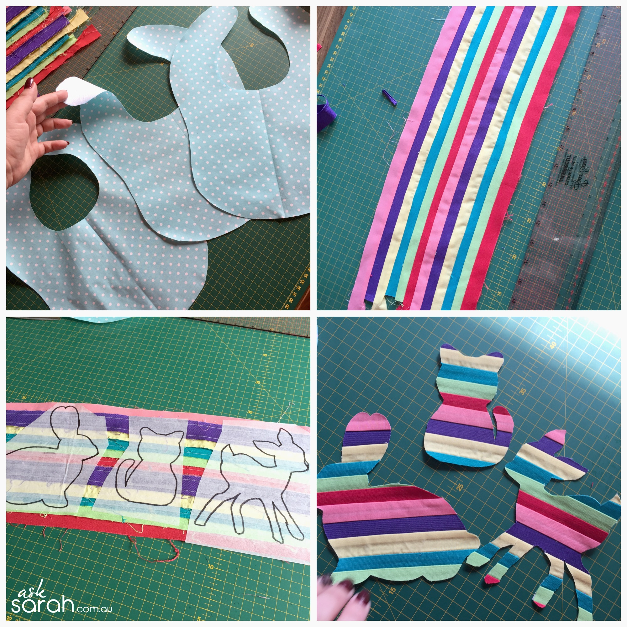 Sew: Bright Bunny Blanket & Baby Bibs {Tutorial & Pattern Links included}