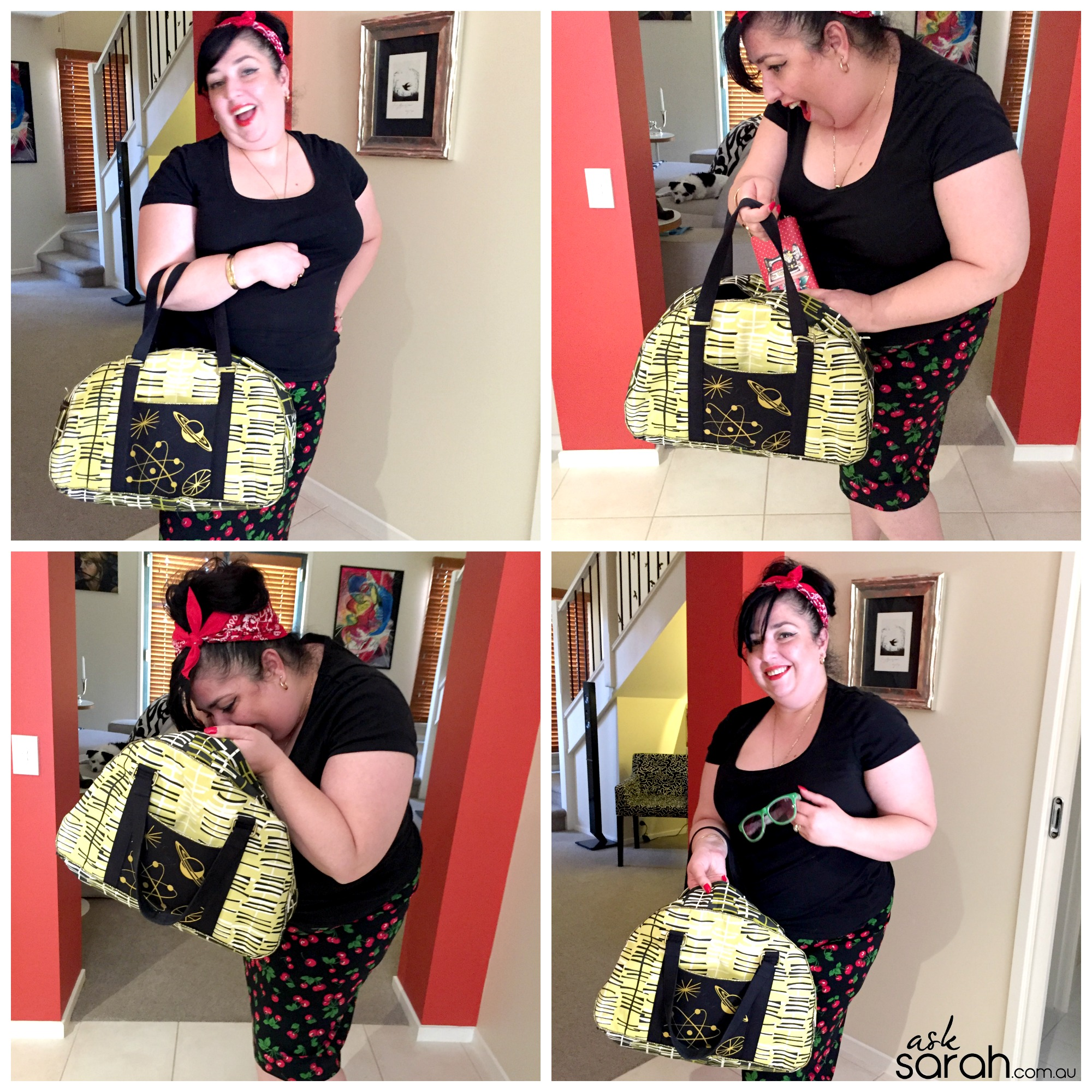 Sew: Atomic Betty Bowler Handbag {Hooray for Handmade Handbags!}