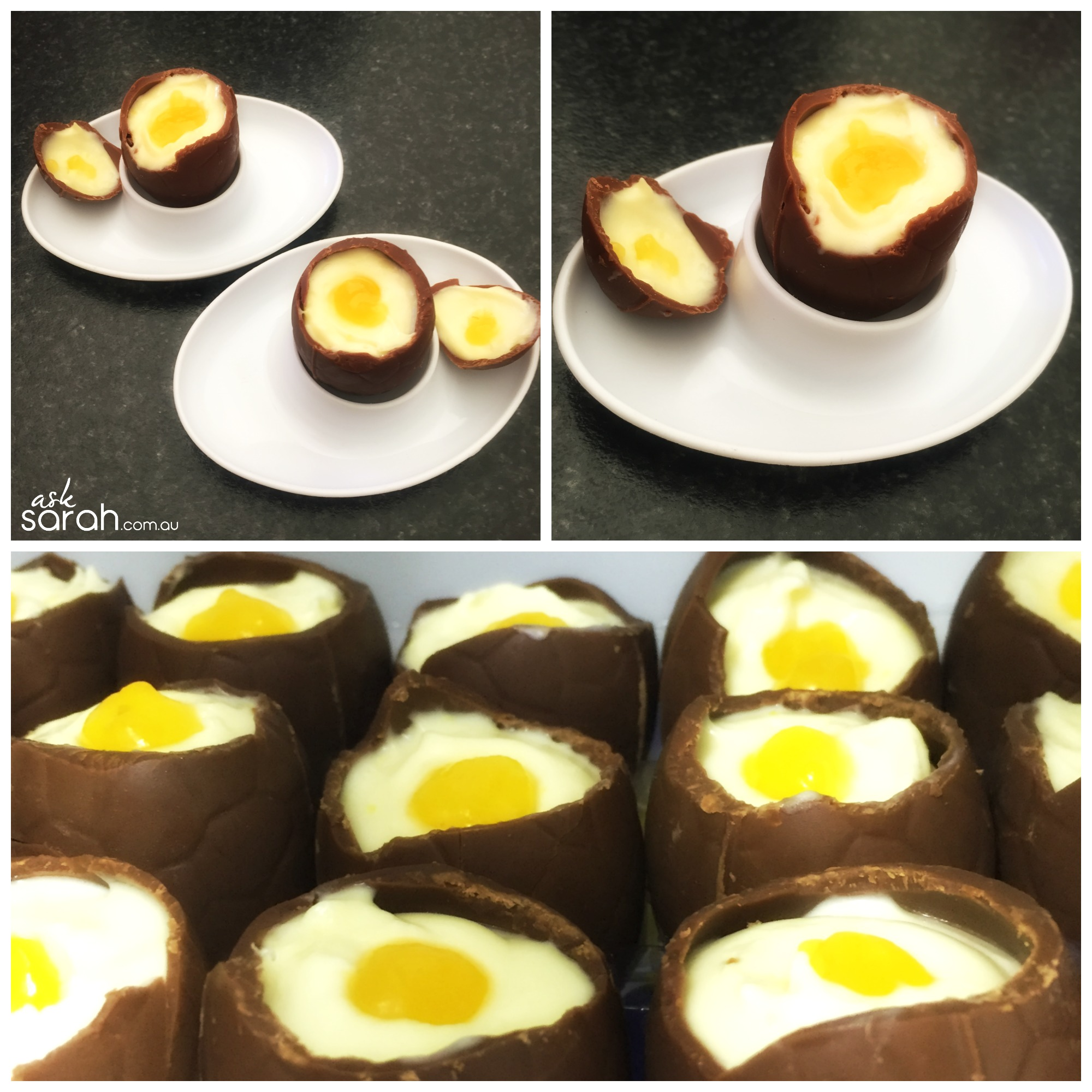 Recipe: Lemon Cheesecake Chocolate Easter Eggs {Only 5 Ingredients & Easy Too!}