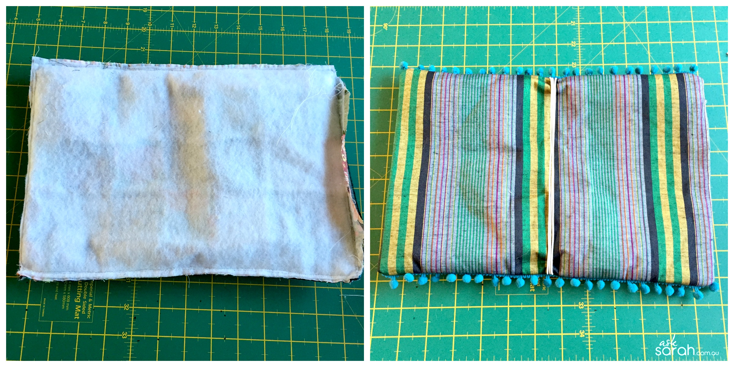 Sew: Hippy Boho Diary/Notebook Cover Tutorial {Fauxdori Style Traveller's Notebook}