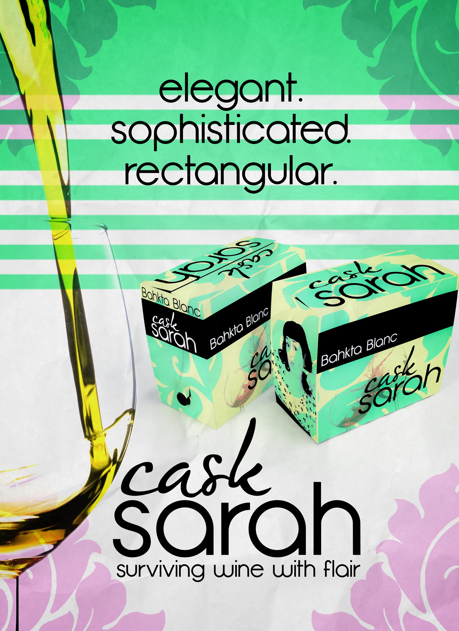 OMG! I Can Finally Tell You About Cask Sarah! {Yes! My Very Own Boxed Wine}