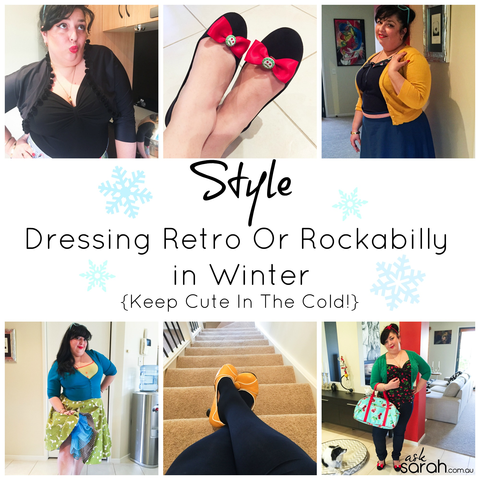 Style: Dressing Retro Or Rockabilly in Winter {Keep Cute In The Cold!}
