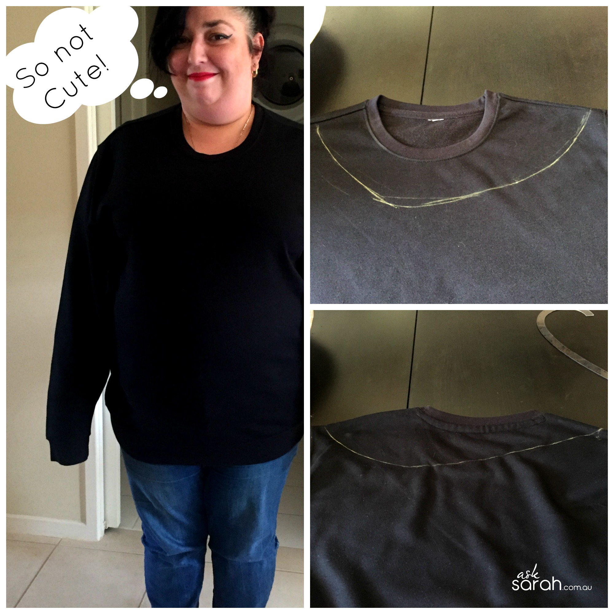 Make: Off The Shoulder Sweatshirt Surgery & Heat Transfer Graphic {Easy, No Sew Refashion}