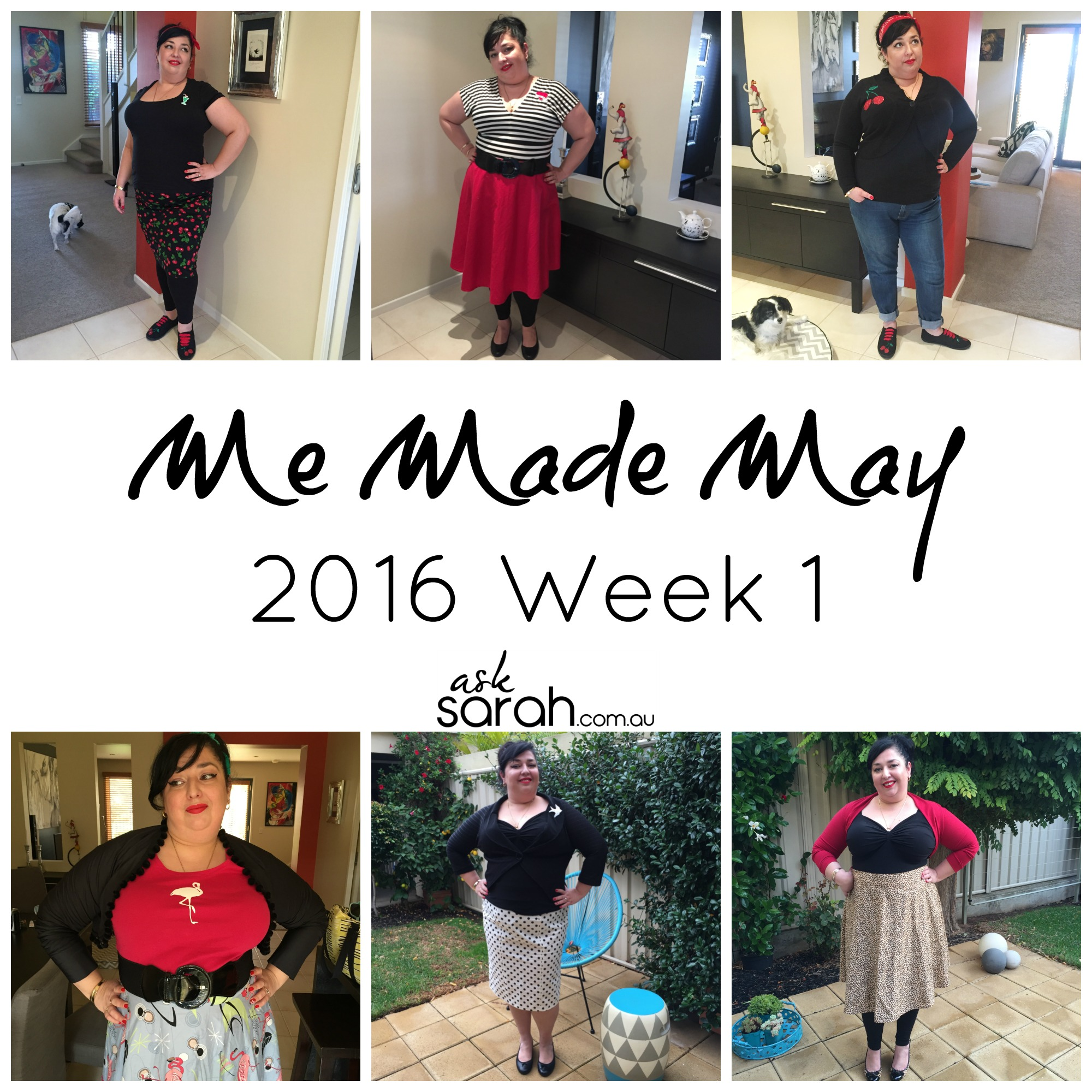 Me Made May 2016 Week 1
