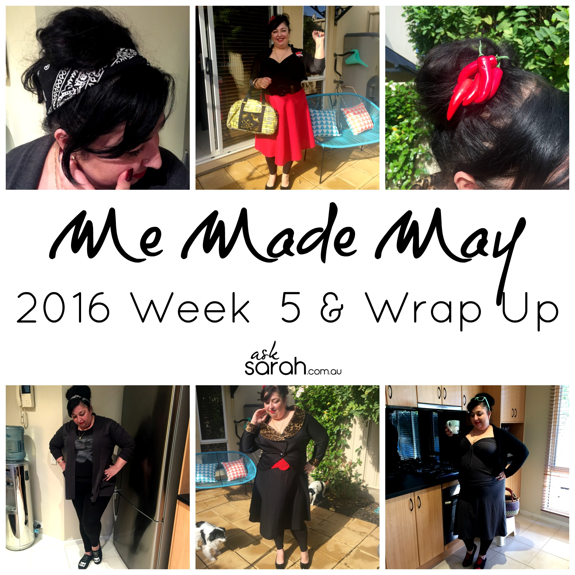 Me Made May 2016 Week 5 & Wrap Up!
