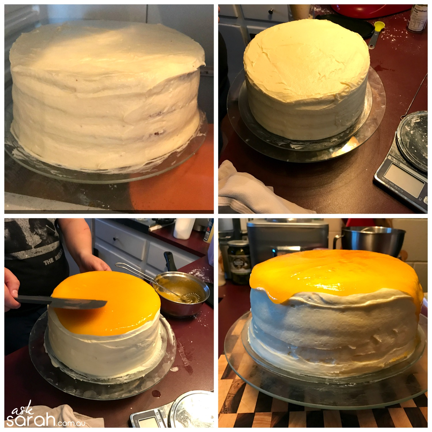 Recipe: Passionfruit Layer Cake {Made By Mr Ask For My Birthday!!}