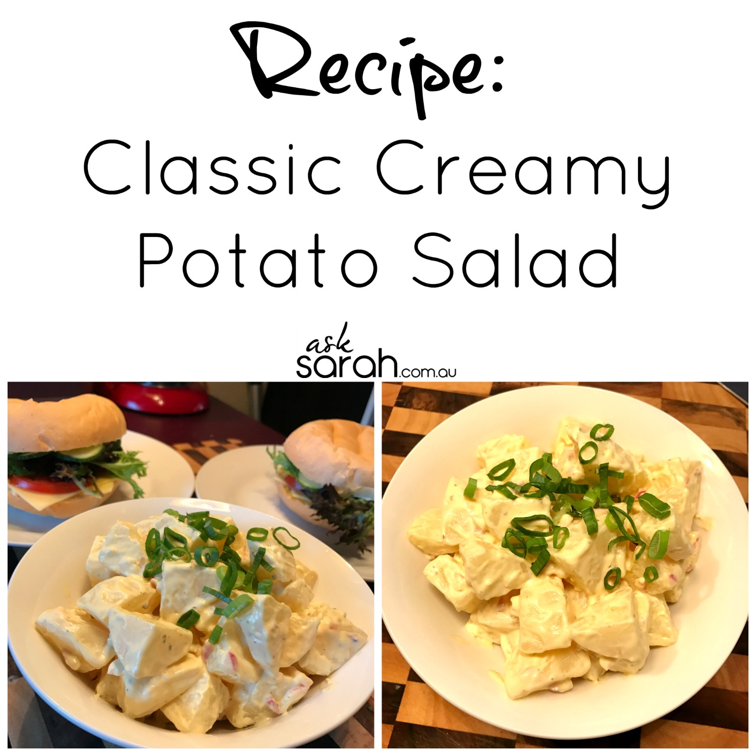 Recipe Classic Creamy Potato Salad
